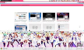 themes google chrome fairy tail google chrome theme idolm ster randomness thing
