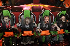 six flags magic mountain voted best theme park halloween event