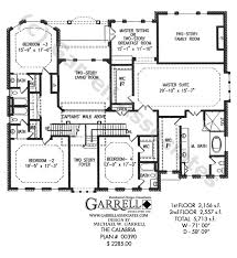 two story house plan calabria house plan dual master house plans