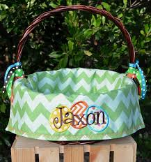 personalized easter basket liner personalized easter baskets diaries of a domestic goddess
