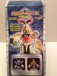 medabots metabee super electronic w watch robot action figure rare