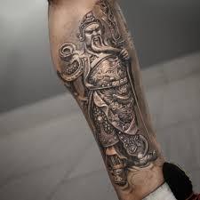 shin tatoos chinese warrior tattoo best tattoo ideas gallery