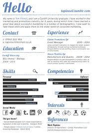 23 best resume inspiration images on pinterest resume design