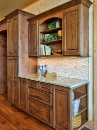 Rustic Hickory Kitchen Cabinets Best 25 Rustic Wood Cabinets Ideas On Pinterest Wood Cabinets