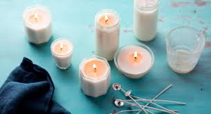 diy scented holiday candles with just 3 ingredients thrive market