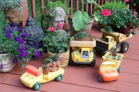 13 unusual and upcycled container gardens diy