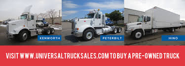 buy kenworth truck universal truck sales news on heavy truck sales and used truck sales
