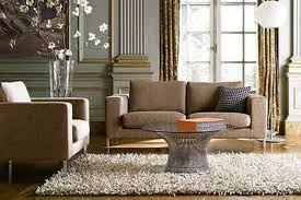 what color curtains go with dark brown leather couch