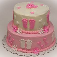 astounding baby shower cakes for girls design 59 for your baby