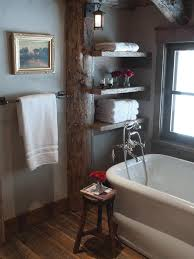 Small Rustic Bathroom Ideas Bathroom Coolest Bathroom With Beams Home Interior Design Ideas