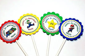 where to buy cake toppers mario brothers cake toppers where to buy bros birthday party