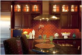 good red brick kitchen backsplash 25 with additional interior