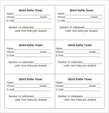 Raffle Sheet Template 28 Sle Ticket Templates Free Raffle Ticket Template Images