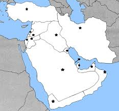 middle east map and capitals quitzer middle east capitals