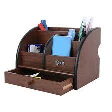 rangement stylo bureau 5 bloc en bois de cerisier stylo parallèle corde porte