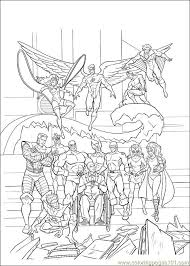 xmen 36 coloring free men coloring pages
