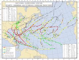Hurricane Map File 2005 Atlantic Hurricane Season Map Png Wikimedia Commons