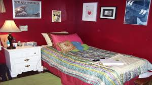 bedroom ideas for teenage girls red colors theme