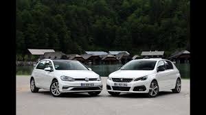 perso car comparatif peugeot 308 2017 vs volkswagen golf 2017 duel