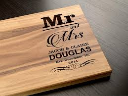 personalized cutting board wedding gift personalized wedding party favors and gifts custom engraved wooden