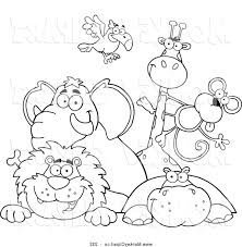 coloring pages printable zoo animal coloring pages mycoloring