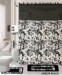 Black And White Bathroom Rugs Amazon Com Popular Bath Caprice White Bath Rug Home U0026 Kitchen