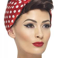 pin up girl costume 40s rosie wig costume ideas 2016