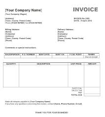 Invoice Template Excel Free Photography Invoice Template Word Invoice Sle Template