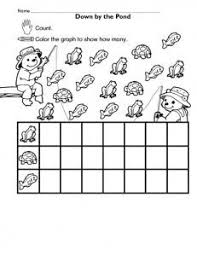 graphing worksheets for kindergarten google search math
