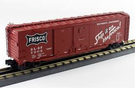 box car train lionel o 6 82261 50 u0027 double door boxcar frisco 7002