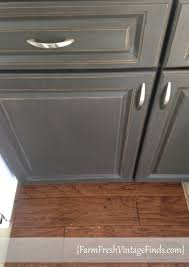chalk paint cabinets distressed painted laminate kitchen cabinets farm fresh vintage finds