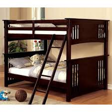haskell metal and wood casual twin over futon bunk bed bunk beds