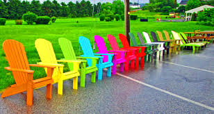 Quality Adirondack Chairs Adirondack Chairs On Display In The Rain Love U0027s Photo Album
