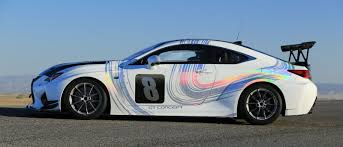 lexus new rc f lexus entering pikes peak with all new rc f gt concept