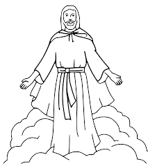 coloring pictures of jesus coloring pages
