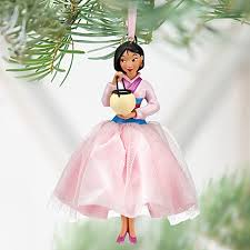 2012 mulan princess sketchbook ornament nwt