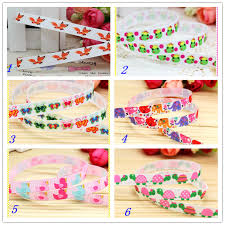 fox ribbon online get cheap fox ribbon printed grosgrain ribbon aliexpress
