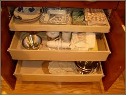 Kitchen Cabinets With Drawers That Roll Out by Kitchen Roll Out Drawers For Kitchen Cabinets Rev A Shelf Pull