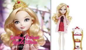 after high apple white doll getting fairest apple white doll after high