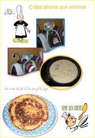 activité manuelle cuisine crepe geante aux pommes cuisine enfants recette