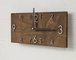 Scandinavian Wall Clock Clocks Etsy Sg