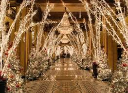 10 hotels with over the top christmas decorations huffpost