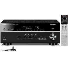 amazon com yamaha rx v675 r 7 2 channel factory refurbished