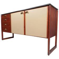 mid century modern marble top sideboard by jens risom for sale at