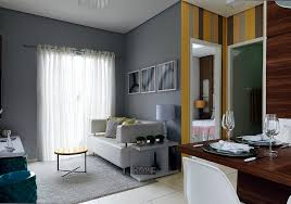 Popular Apartamento pequeno: 47 m² para família com quatro   Minha Casa #DT31