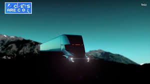 electric semi truck tesla motors introduces electric semi truck the weather channel