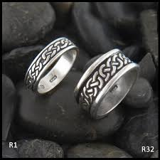celtic rings josephine s knot ring in two widths in sterling silver