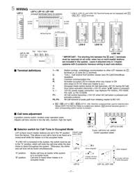 aiphone lef3510 instructions user manual