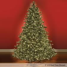 8 foot led christmas tree white lights the world s best prelit noble fir 12 full lifetime guarantee