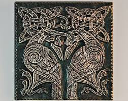 Celtic Garden Decor Celtic Knot Shamrock Irish Art Garden Gift Irish Christmas
